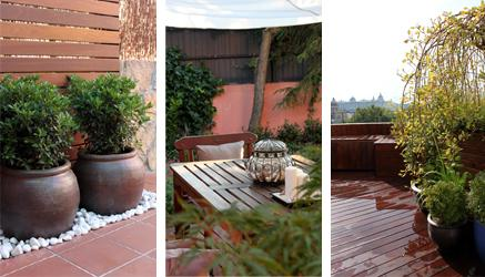 Especial dise o de jardines en ticos ideas para decorar - Jardines en aticos ...