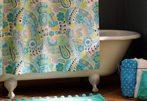 Cortinas de ba o paperblog - Como hacer una mampara de ducha ...