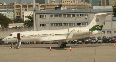 Gulfstream G550: $61 Millones - Dueño: Eike Batista