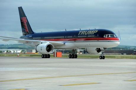 Boeing 757-200: $100 Millones - Dueño: Donald Trump