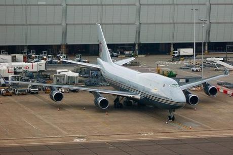 Boeing 747-400: $233 Millones - Dueño: Sultan de Brunei