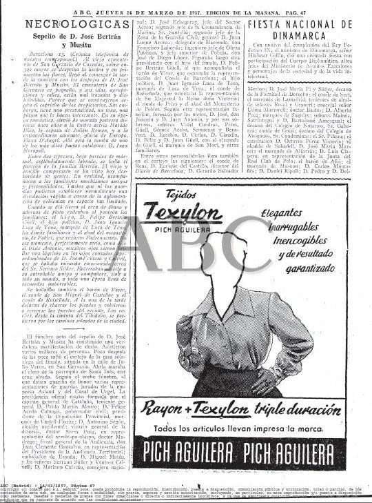 BARCELONA... MUCHAS GRACIAS SR. VALENTÍ PONS TOUJOUSE...CASA JOSE  BERTRÁN I MUSITÚ...ESPÍA DE FRANCO...4-07-2013...