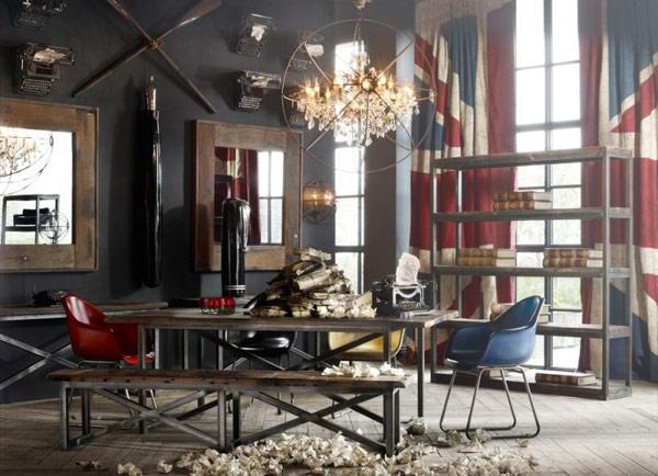 Salones vintage al mas puro estilo americano paperblog - Salones estilo vintage ...