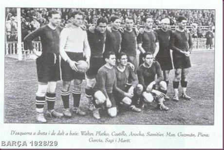 BARÇA 1928-29