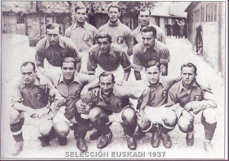 SELECCIÓN EUSKADI 1937