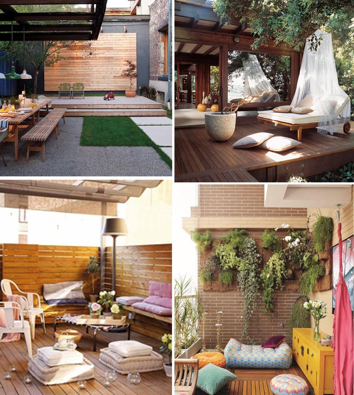 decoraci n jardines y terrazas paperblog On terraza y decoracion de jardin