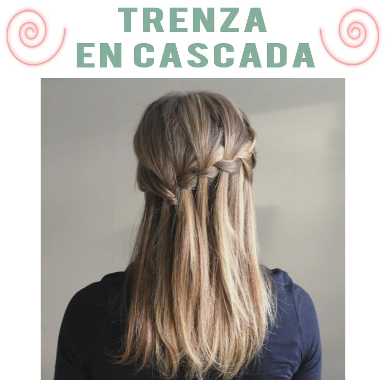 Pin peinado cascada como hacer peinados de paso por pein - Como realizar peinados ...