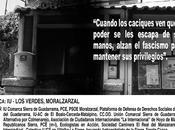 Concentración ante atentado sufrido sede Moralzarzal