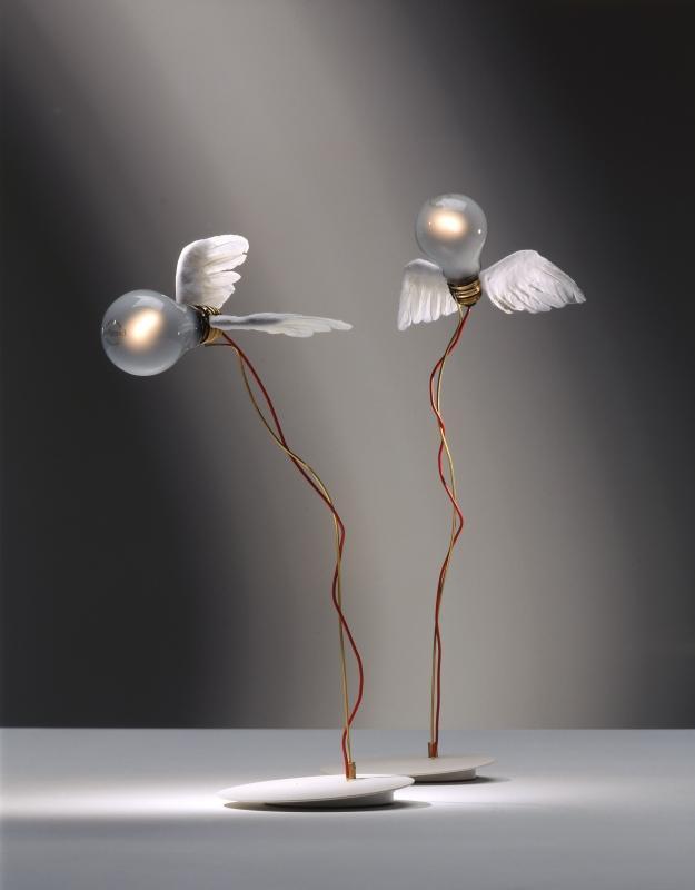 Lucellino Ingo Maurer 2 6 Lámparas que No lo parecen   Objetos Cotidianos Hechos Luz