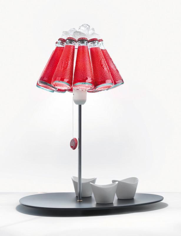 ingomaurer.com campari bar 6 Lámparas que No lo parecen   Objetos Cotidianos Hechos Luz