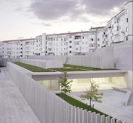 Escuela Infantil en Pamplona, España  Carlos Pereda y Óscar Pérez | Pereda Pérez arquitectos,  Fotografía: Pedro Pegenaute
