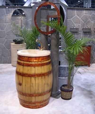 Lavabo-barril-Evolución-Verde