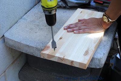 Como hacer columpios de madera free un columpio with como - Como fabricar un columpio ...