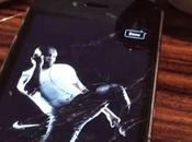 Nike disimula pantalla rota smartphone