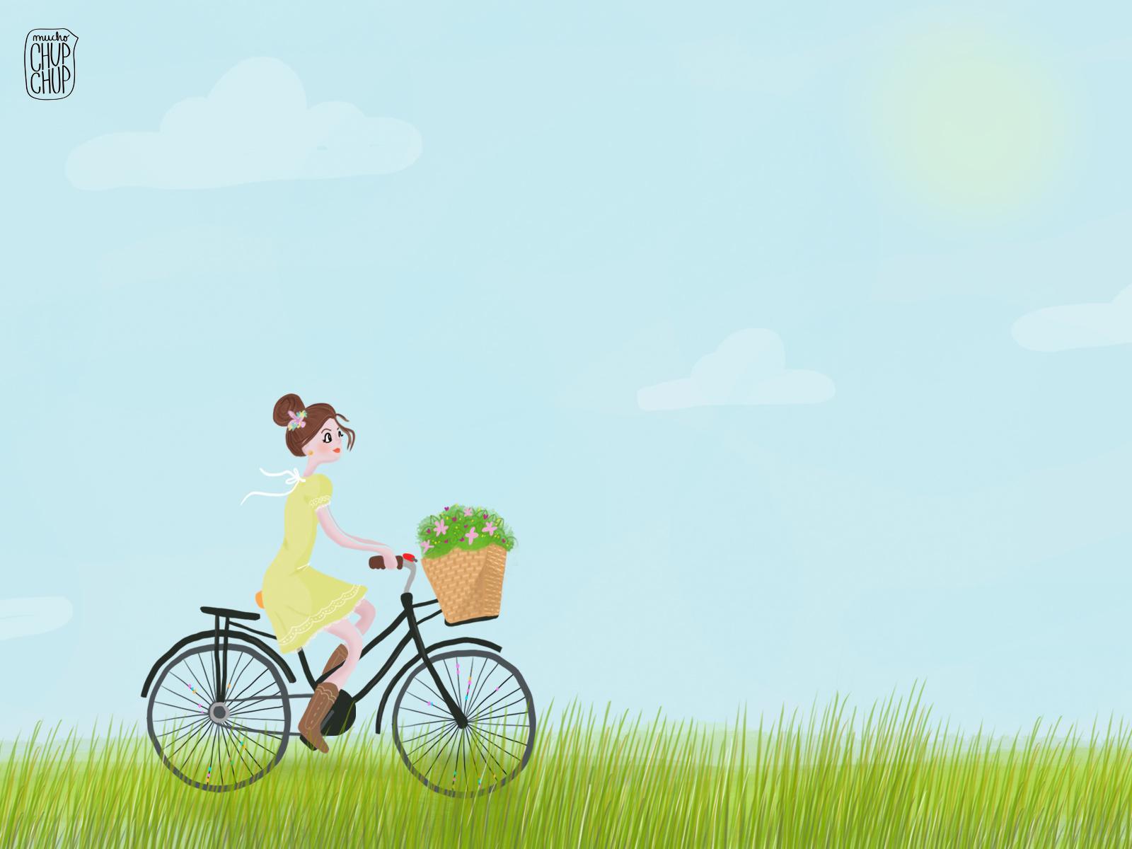 image Ahora eso es un buen paseo en bicicleta