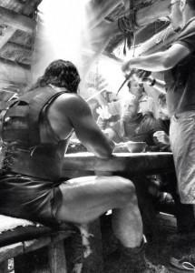Nueva imagen en el set de rodaje de 'Hércules'