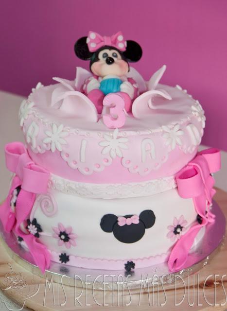 Tarta Minnie Decorada