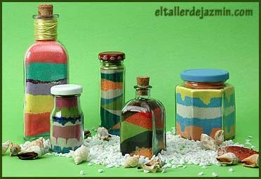Cómo decorar botellas