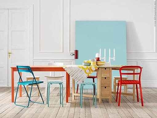 Comedores con sillas de diferentes colores paperblog - Colores para comedores ...