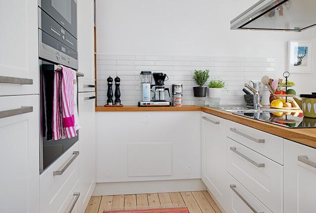 Una cocina abierta a un balcon con vistas paperblog for Cocina abierta azulejos de cocina