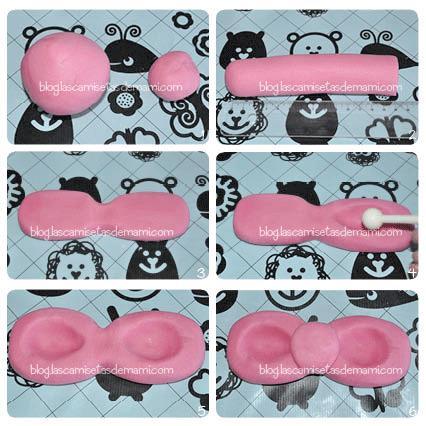 tarta hello kitty 10 Como hacer una tarta de Hello Kitty paso a paso