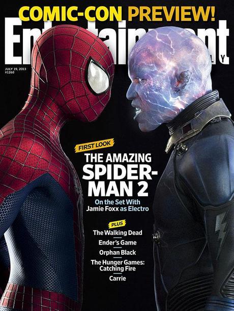 Primera imagen de Jamie Foxx como Electro