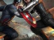 Espectacular diseño Capitán América: Soldado Invierno