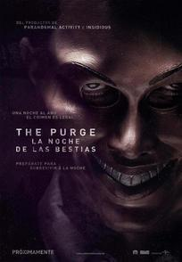 Cartel de The Purge: La noche de las bestias