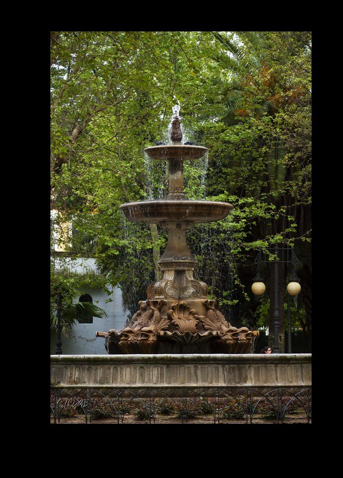 Jardines de la plaza de col n paperblog for Jardines de plaza