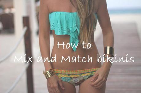 How to mix and match bikinis