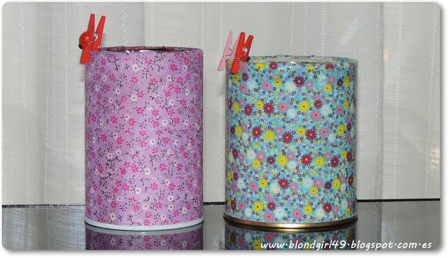 Diy decoraci n de lapiceros con washi tape paperblog - Decoracion con washi tape ...