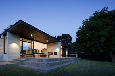 casa de campo minimalista paperblog