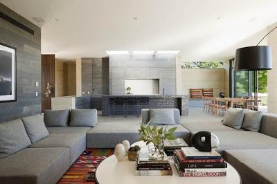 Casa de campo minimalista paperblog for Australian living room ideas