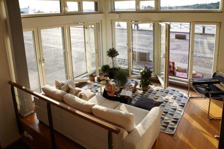 Loft con zona de exterior en la acera paperblog - Diseno de lofts interiores ...