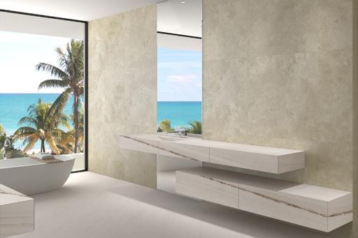 Diseños de cuartos de baño para la vivienda proyectada por ...
