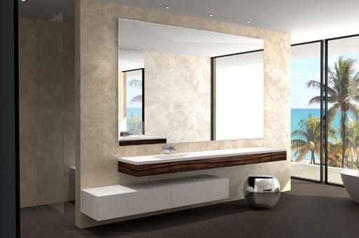 Dise os de cuartos de ba o para la vivienda proyectada por for Espejos modernos para habitaciones