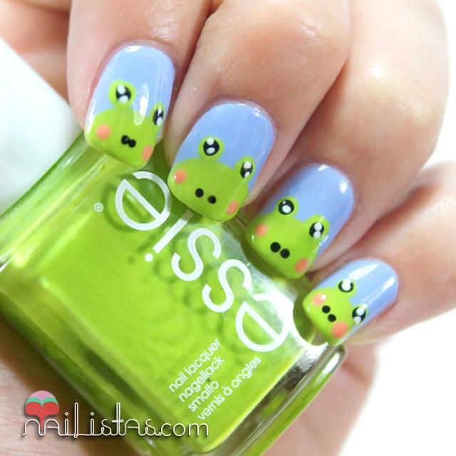 Uñas decoradas con ranas: Nail art de animales - Paperblog