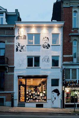 librería Ptyx en Bruselas