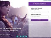 Yahoo! comenzó liberar ID's cuentas inactivas usuarios pueden crear lista gustaría tener