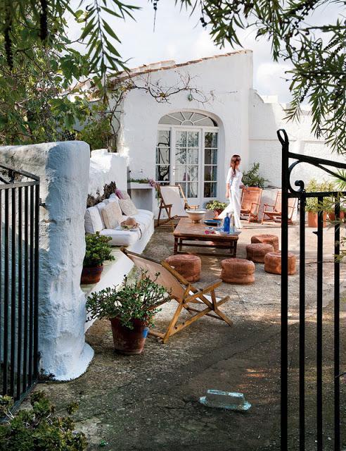 La casa Hippy Chic de la diseñadora Úrsula Mascaró - Paperblog