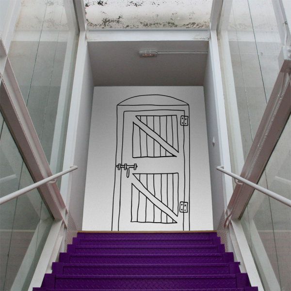 Puertas vinilos decorativos para viajar paperblog - Vinilos decorativos puertas ...