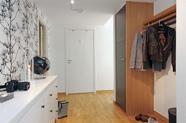 Decorar paredes con papel pintado paperblog - Papel pintado para recibidores ...
