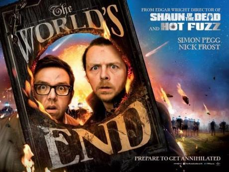 The worlds End poster simon pegg