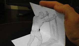 Dibujos anamórficos