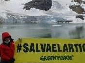 Alejandro Sanz Greenpeace para pedir protección Ártico