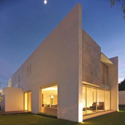 Casa minimalista en mexico paperblog for Casa minimalista guadalajara