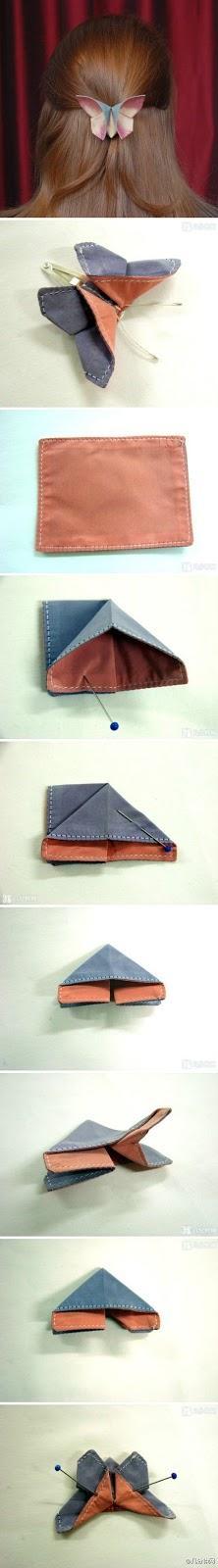 Un broche DIY de origami!