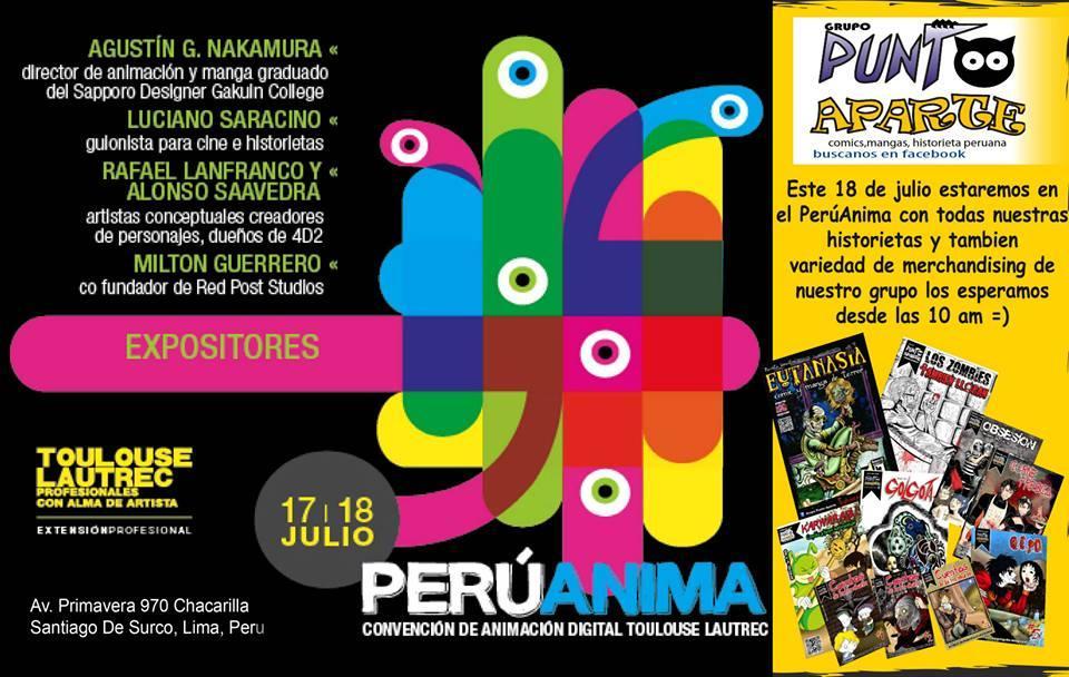 Punto aparte este 18 de julio en el PerúAnima - Paperblog