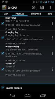 SetCPU for Root Users v 3.1.1 GRATIS