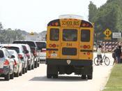 ¿Cansado atascos tráfico colegios?